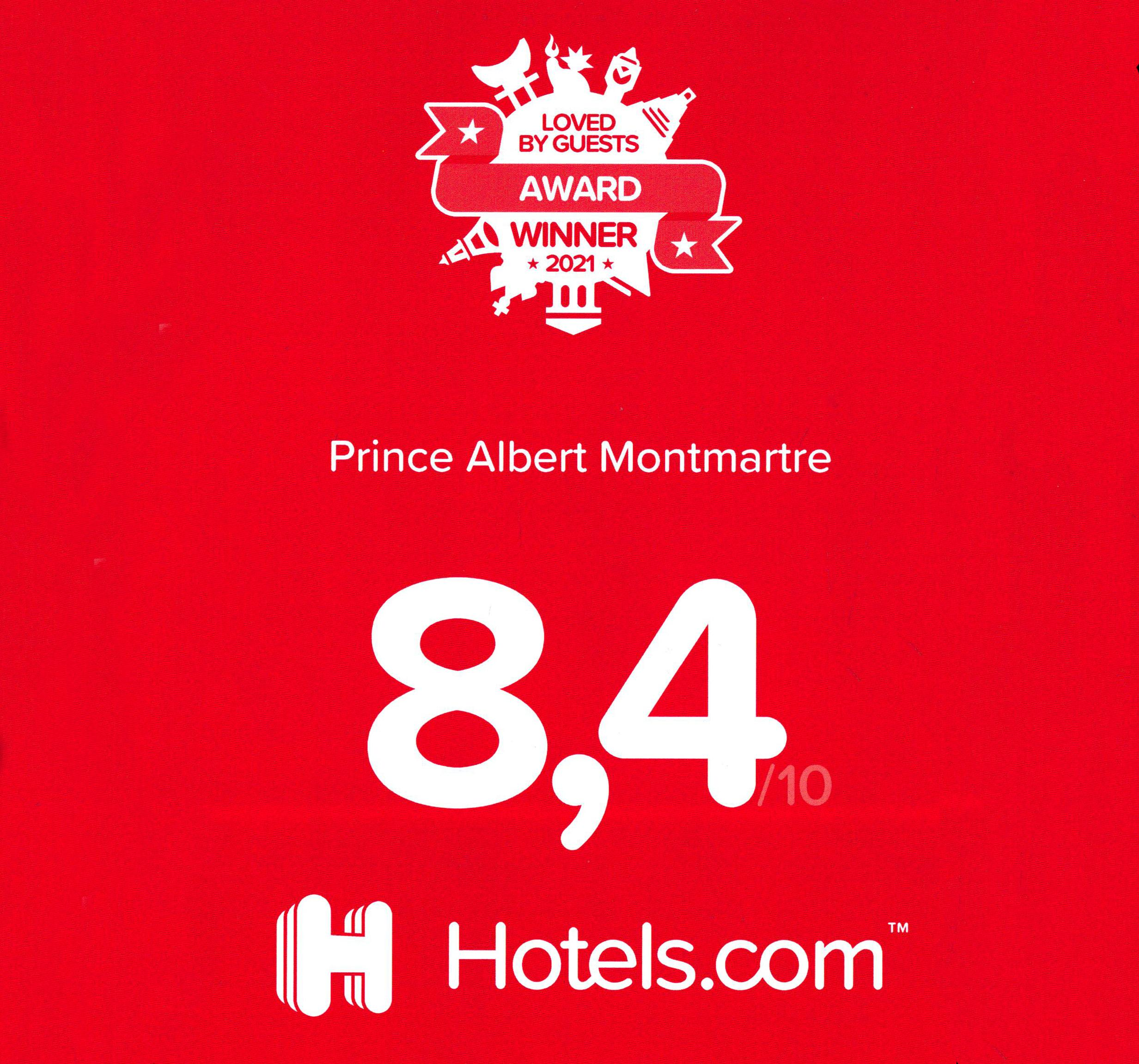 Award Winner Hotels.com