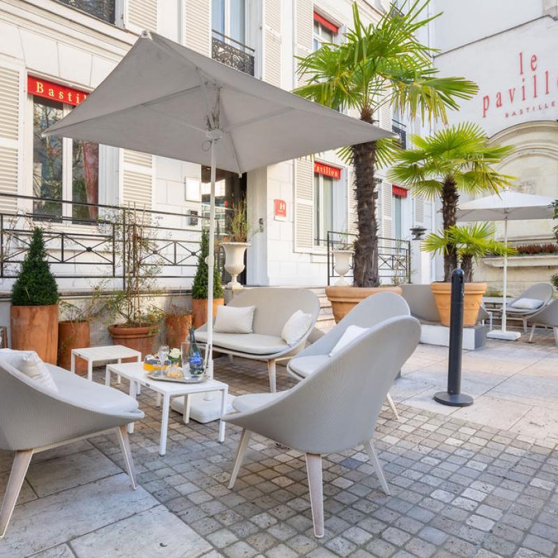Hotel Pavillon Bastille - Terrace